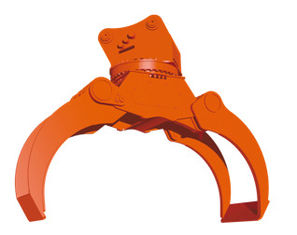 Orange Excavator Equipment Parts Unloading Weight 1500kg 4-6mto Suitable Carrier