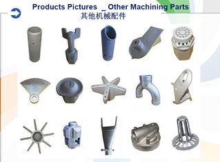Machined Investment Casting Services , Precision Investment Castings Chemical Engineering